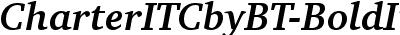 CharterITCbyBT-BoldItalic
