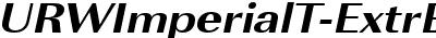 URWImperialT-ExtrBoldExtr...