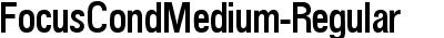 FocusCondMedium-Regular