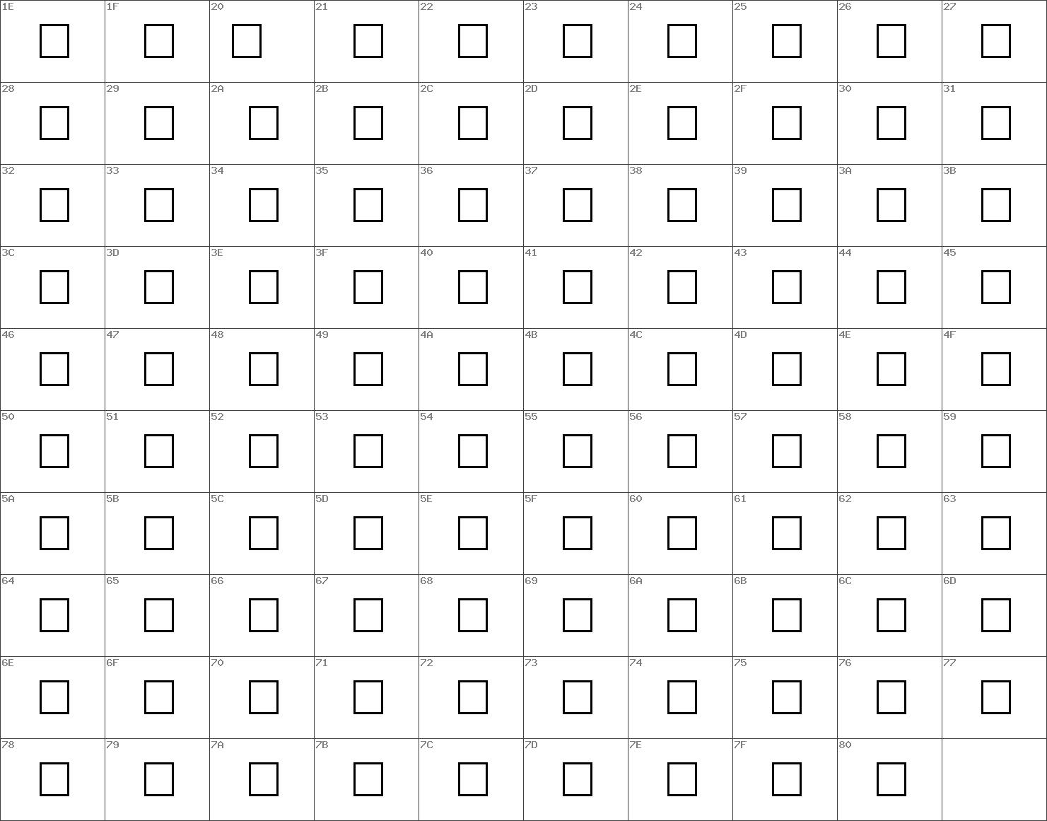 Kufi07 Outline Italic