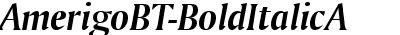 AmerigoBT-BoldItalicA