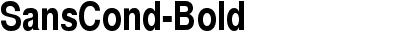 SansCond-Bold