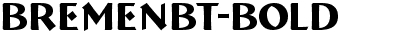 BremenBT-Bold