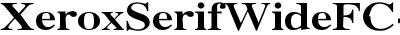 Xerox Serif Wide Bold