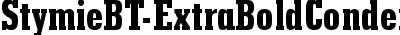 StymieBT-ExtraBoldCondens...
