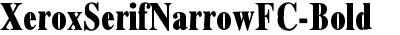 XeroxSerifNarrowFC-Bold