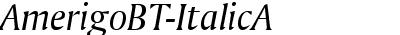 AmerigoBT-ItalicA