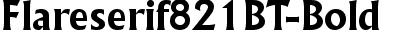 Flareserif821BT-Bold