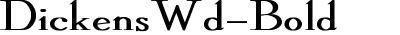 DickensWd-Bold