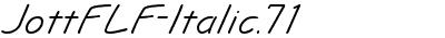 JottFLF-Italic.71