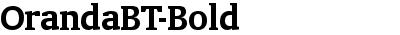OrandaBT-Bold