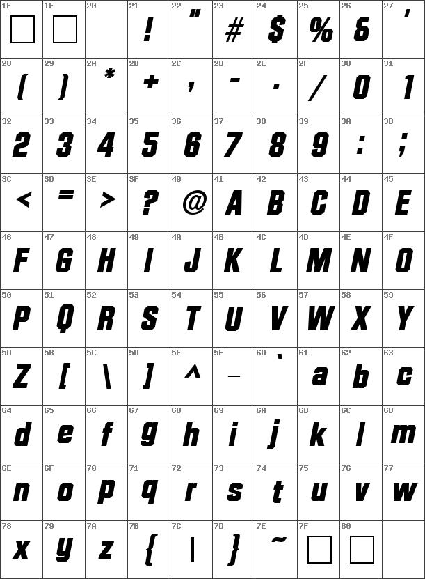 DiamanteLH Bold Italic