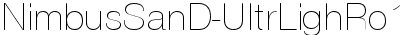 NimbusSanD-UltrLighRo1