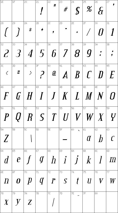 CreditValley-Italic