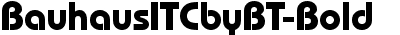 BauhausITCbyBT-Bold