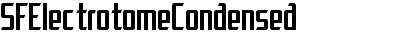 SFElectrotomeCondensed