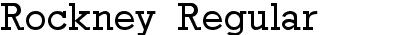Rockney Regular