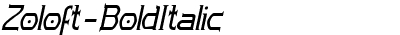 Zoloft-BoldItalic