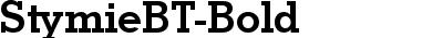 StymieBT-Bold
