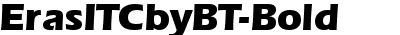 ErasITCbyBT-Bold