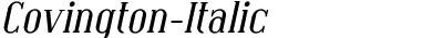 Covington-Italic