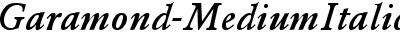 Garamond-MediumItalic