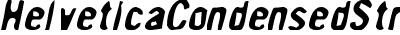 HelveticaCondensedStresse...