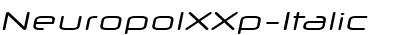 NeuropolXXp-Italic