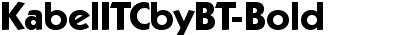KabelITCbyBT-Bold
