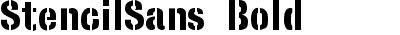StencilSans Bold