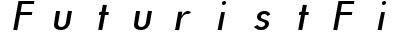 FuturistFixedWidth Italic