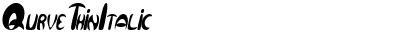 Qurve Thin Italic