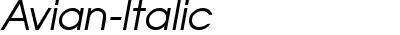Avian-Italic