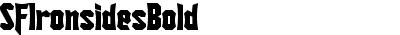 SFIronsidesBold