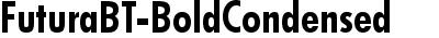 FuturaBT-BoldCondensed