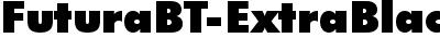 FuturaBT-ExtraBlack