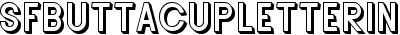 SFButtacupLetteringShaded