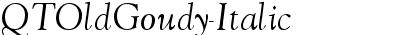 QTOldGoudy-Italic