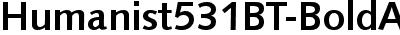 Humanist531BT-BoldA
