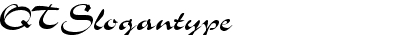 QTSlogantype Regular