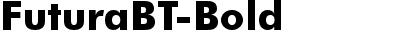 FuturaBT-Bold
