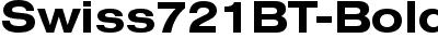 Swiss721BT-BoldExtended
