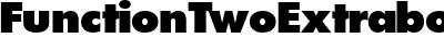 FunctionTwoExtrabold-Regu...