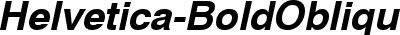 Helvetica-BoldOblique