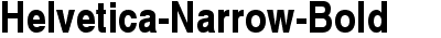 Helvetica-Narrow-Bold