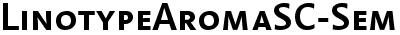 LinotypeAromaSC-SemiBold