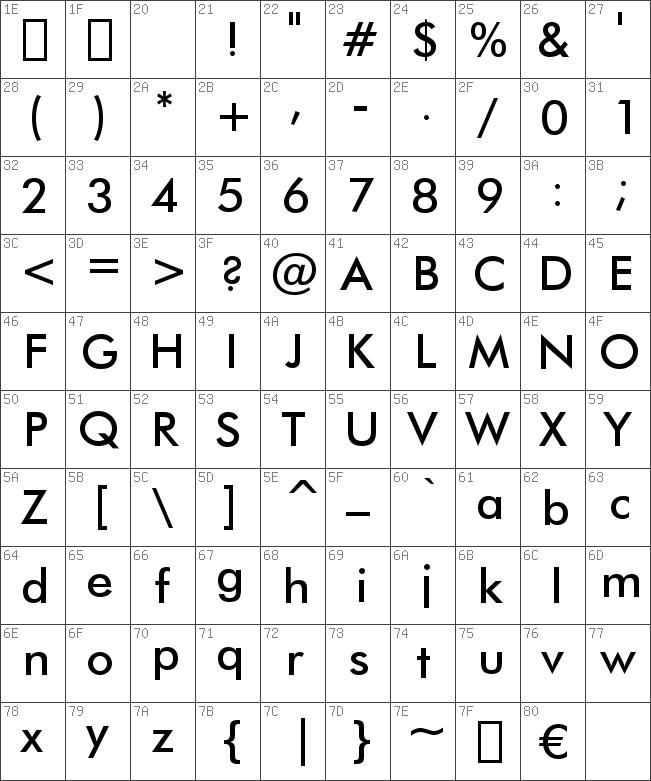 FuturaBT-Medium font
