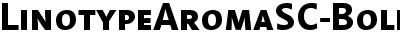 LinotypeAromaSC-Bold