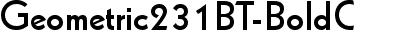 Geometric231BT-BoldC