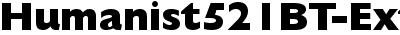 Humanist521BT-ExtraBold